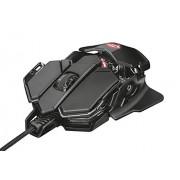 Trust Gaming GXT 138 X-Ray Mouse Gaming con diseño de rayos x, sensor de 4000 ppp e iluminación LED RGB, Negro