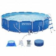 INTEX bazen 4.57 X 1.07 sa metalnom konstrukcijom PRISM FRAME 26724