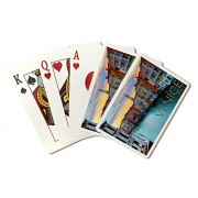 Venice, Italy Canal View (Playing Card Deck 52 Card Poker Size With Jokers)