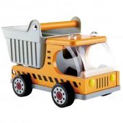 Hape Dumper Truck E3013 Camion con cassone ribaltabile per bambini