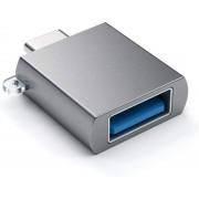 Adaptor Satechi ST-TCUAM, USB - USB Type-C (Gri)