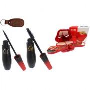 ADS 1595 Eyeliner Mascara 8010 Makeup Kit with Ashra Keychain