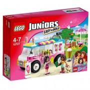 Lego 10727 - juniors - friends - il furgone dei gelati di emma