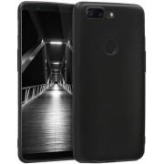 Protectie spate Senno Pure Flex Slim Mate TPU pentru OnePlus 5T (Negru)