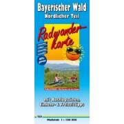 Fietskaart Bayerischer Wald - Nördlicher Teil - Beierse Woud | Publicpress