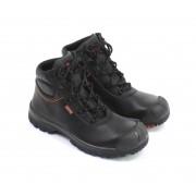 EMMA BILLY Veiligheidsschoenen Hoge Werkschoenen S3 - Zwart - Size: 45