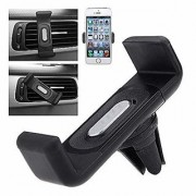 Fleejost Air-Vent Car Mount Mobile Holder Stand All Mobile Phones 4 Inch to 5.55 Inch Black