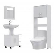Botiquin Bath 47-B + Optimizadores Lavamanos 55 + Baño 63-A -TuHome