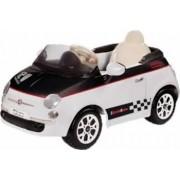 Vehicul copii Peg Perego Fiat 500 12V WhiteBlack