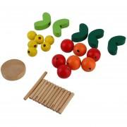 ER Árbol De Bricolaje Juguetes Educativos De Madera Sabiduría Temprano Desarrollar Ramas Ball Toy -Multicolor