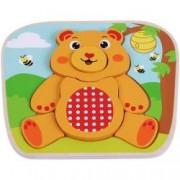 Puzzle din lemn Ursulet - Sun Baby