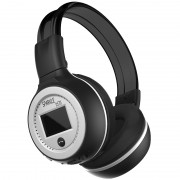 ZEALOT B570 HiFi Bluetooth Headphone with Mic Support FM Radio Micro-SD Card - Silver