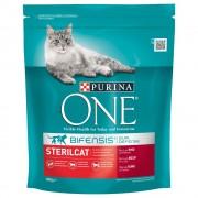 Purina ONE Bifensis Gatos esterilizados buey - 3 kg