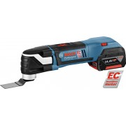 Bosch GOP 14,4 V-EC akumulatorski multi cutter / renovator sa EC motorom bez četkica i sa 2x4,0 Ah Li-Ion baterije u L-Boxx koferu