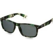 Polaroid Rectangular Sunglasses(Grey)