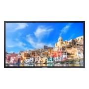 "Samsung QM85E-BR 85"" LED 4K Ultra HD Nero Display professionale"