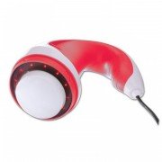 Aparat de masaj Relax and Tone Red Power, 12 x LED, 40 W, 2 capete