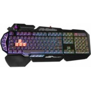 Tastatura A4Tech Bloody Light Strike Gaming 4 infrared switch US Layout Neagra