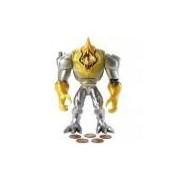 Boneco Max Steel - Mega Elementor Metal - Mattel