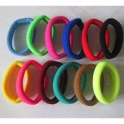 Nandini Hair Rubber Bands 20 Pcs Mix ColorFul