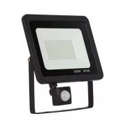 Proiector LED cu senzor de miscare, 50W , 4500lm 6500K IP66