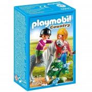 Paseo Con Ponys En El Campo Playmobil Linea Country - 6950