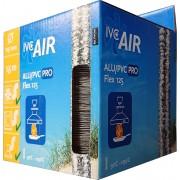 IVC AIR Pro flexibele afvoerbuis alu/pvc voor afzuigkap Ø 125mm x 1.5m