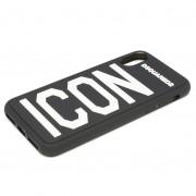 Калъф за телефон DSQUARED2 - iPhone Covers ITM0051 35802197 M063 Nero/Bianco