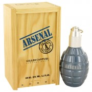 Arsenal Blue Eau De Parfum Spray By Gilles Cantuel 3.4 oz Eau De Parfum Spray