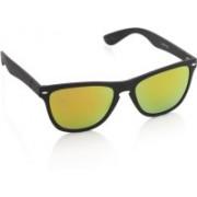 Joe Black Wayfarer Sunglasses(Yellow, Orange)