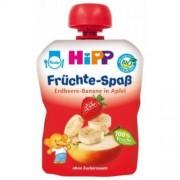 Hipp 8521 fruit mix eper-banán almában, 100 g