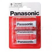 Philips 2 x bateria cynkowo-węglowa Panasonic R20 D (blister)