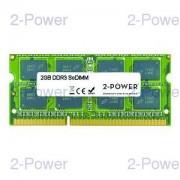 2-Power 2GB DDR3 MultiSpeed 1066/1333/1600 MHz SO-DIMM