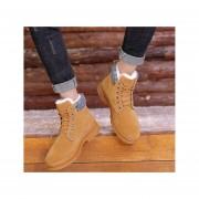 Botas de algodón de moda-fashion-cool-Hombre-Marrón