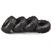 "AST Works 4Pcs Set 1.9"" Super Swamper Rocks Tyre Tires for RC 1/10 Climbing Rock Crawler"