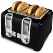Black & Decker 11655YLD7X93 500 W Pop Up Toaster(Black)