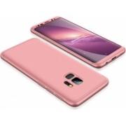 Husa FullBody MyStyle Rose-Gold pentru Samsung Galaxy S9 Plus acoperire completa 360 grade cu folie de protectie gratis