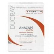 Ducray Integratore alimentare per capelli e unghie anacaps tri-activ 30 capsule
