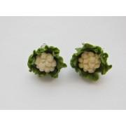 Cauliflower Vegetable Earrings