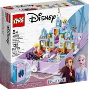 Lego set de construcción lego disney princess cuentos e historias: anna y elsa 43175
