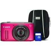 Canon PowerShot SX240 Digital Camera, Pink
