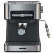 Espressor semi-automat Heinner HEM-B2016SA, 20 bar, 850W, 20 bar, rezervor apa detasabil 1.6l, optiuni presetate pentru espresso lung scurt, filtru din inox, plita pentru mentinere cafea calda, decoar