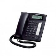Panasonic Fast telefon Panasonic KX-TS880EXB LCD Black