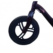 Bicicleta fara pedale 12 inch neagra inaltime reglabila si roti Eva