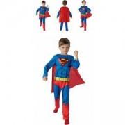 Детски карнавален костюм Супермен, SUPERMAN Comic book, 2 налични размера, Rubies, 610780
