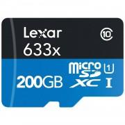 Lexar High-Performance 633x microSDHC/microSDXC UHS-I 200 GB Clase 10