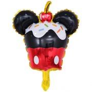 Balon cu Mickey Mouse în formă de brioşă