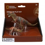 SET 2 FIGURINE - TYRANNOSAURUS - NATIONAL GEOGRAPHIC (NTS01032)