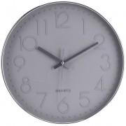 Segnale Nástěnné hodiny kulaté, barva šedá Ø 30 cm