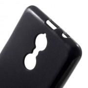 Силиконов калъф за Lenovo K6 Note гръб черен